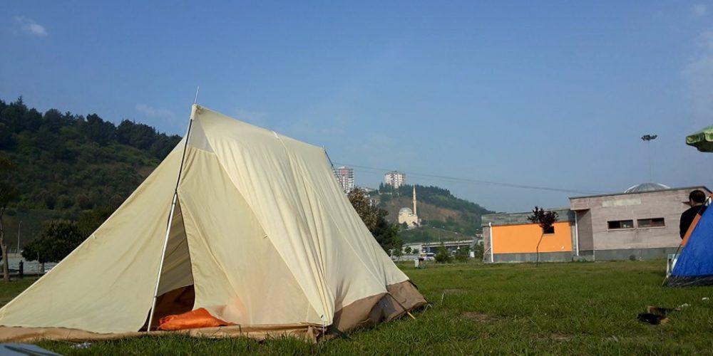 Samsun'da Kamp